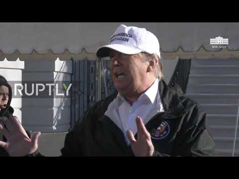 USA: Trump lashes out at press and Democrats ahead of border