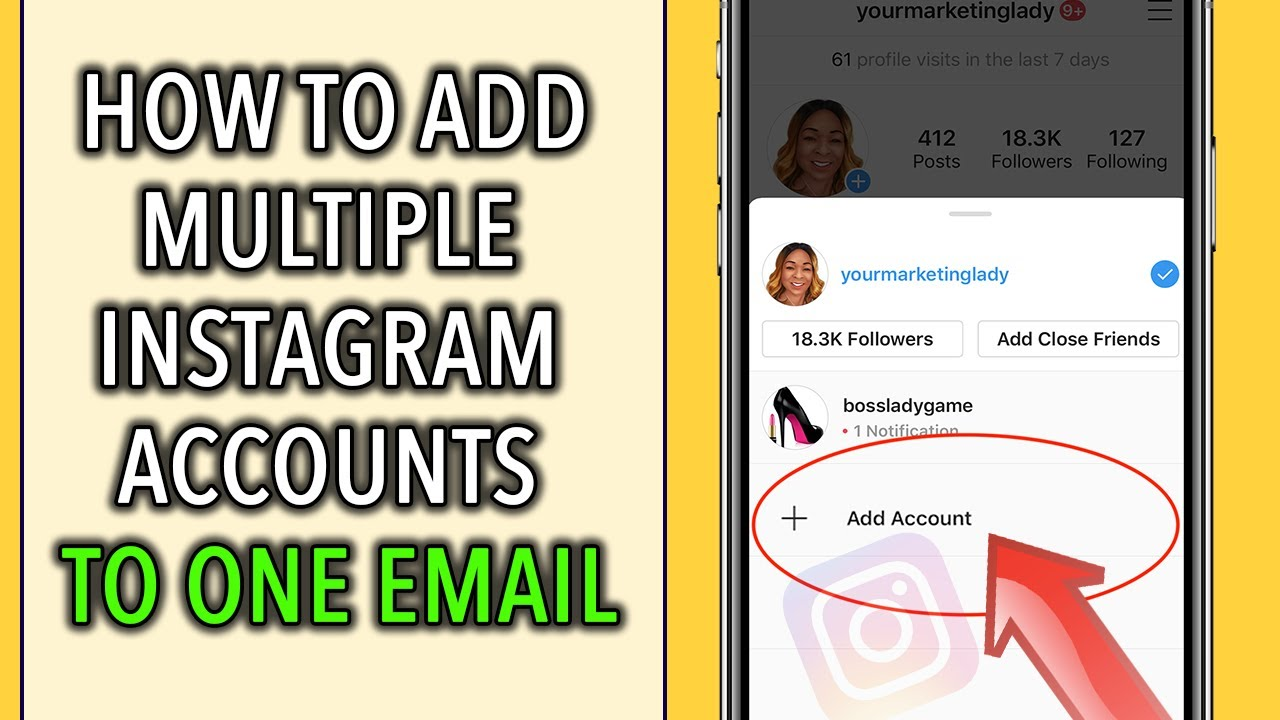 How To Create A Second Instagram Account With One Email