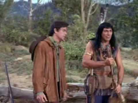 """Mingo procurando Daniel - Série """"Daniel Boone"""", 1966"""