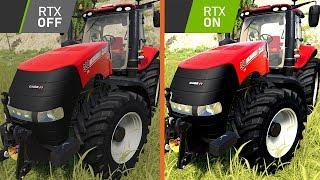 RAY TRACING W FARMING SIMULATOR 19?!?!?!