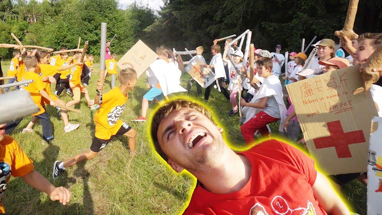 Velká bitva na Tary Campu | Registruj se na TaryCamp.cz na léto 2020!