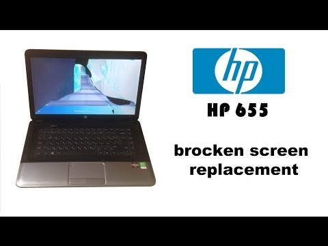 HP - 655 (Notebook PC) REPLACEMENT 1366X768 LAPTOP SCREEN
