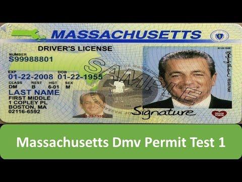 Massachusetts DMV Permit Test 1