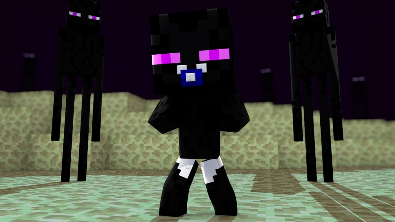 Latest Cute Baby Wallpaper Minecraft Baby Enderman Www Pixshark Com Images