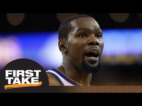 First Take reacts to Kevin Durant apologizing for behavior towards official | First Take | ESPN