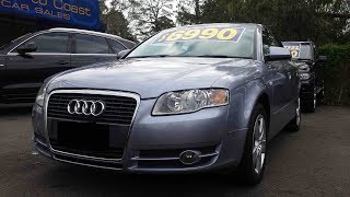 2005 Audi A4 sedan (B7) In depth tour interior and exterior (FOR SALE)