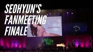 Seohyun Memories Fan Meeting in Seoul Part 2 | Journey with Jacqui
