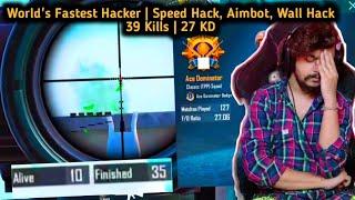 27 KD World's Fastest Hacker | 39 Kills | GodLGuruOP
