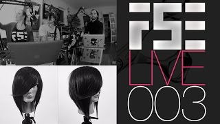 FSE LIVE PODCAST #003 Cutting a bob haircut dry - News and more