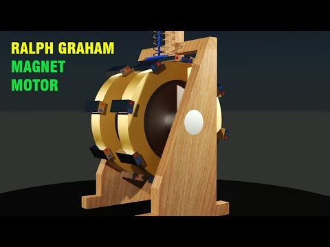 FREE ENERGY, Ralph Graham Magnet Motor, MUST SEE!!!!