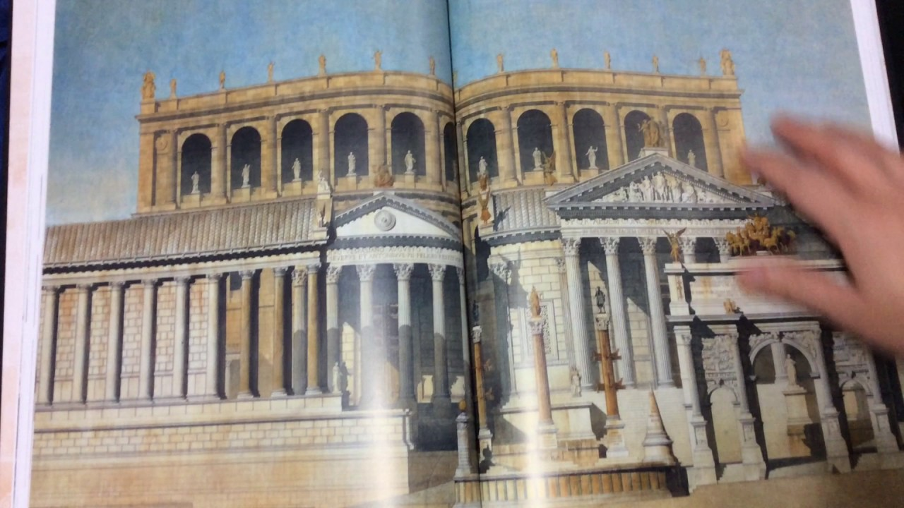 First Look Ruins Of Ancient Rome The Drawings French Architects Who Won Prix De