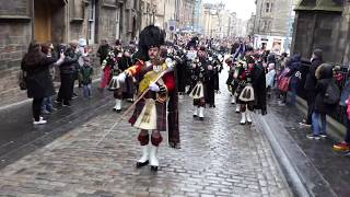 Armistice Centenary Parade 2018 - St Giles to Edinburgh Castle [4K/UHD]