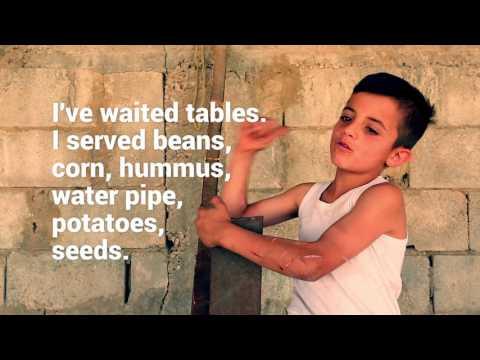 Syrian refugee children in Lebanon: Fares
