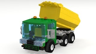 Lego City Custom Dump Truck