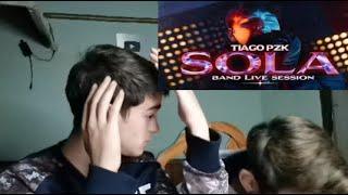 Tiago PZK - Sola (Band Live Session) (Reaccion)