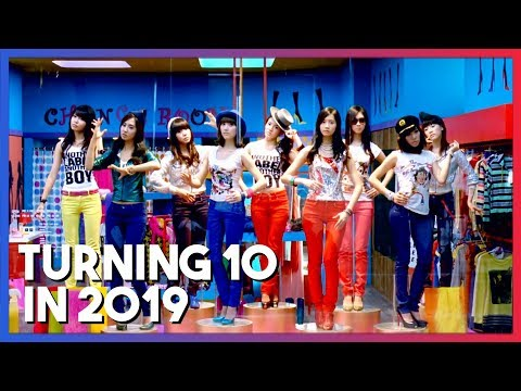 KPop songs that will turn/turned 10 years old in 2019 Mp3