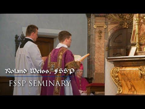 Life in the FSSP Seminary/Das Leben im FSSP Priesterseminar