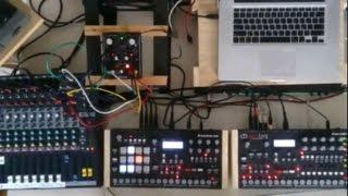 Live Techno with Elektron Analog Four & Rytm