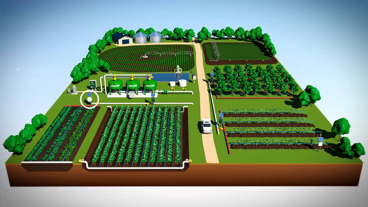 New Fieldnet Drip Micro Irrigation 2014 Youtube