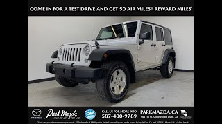 WHITE 2016 Jeep Wrangler Unlimited  Review   - Park Mazda