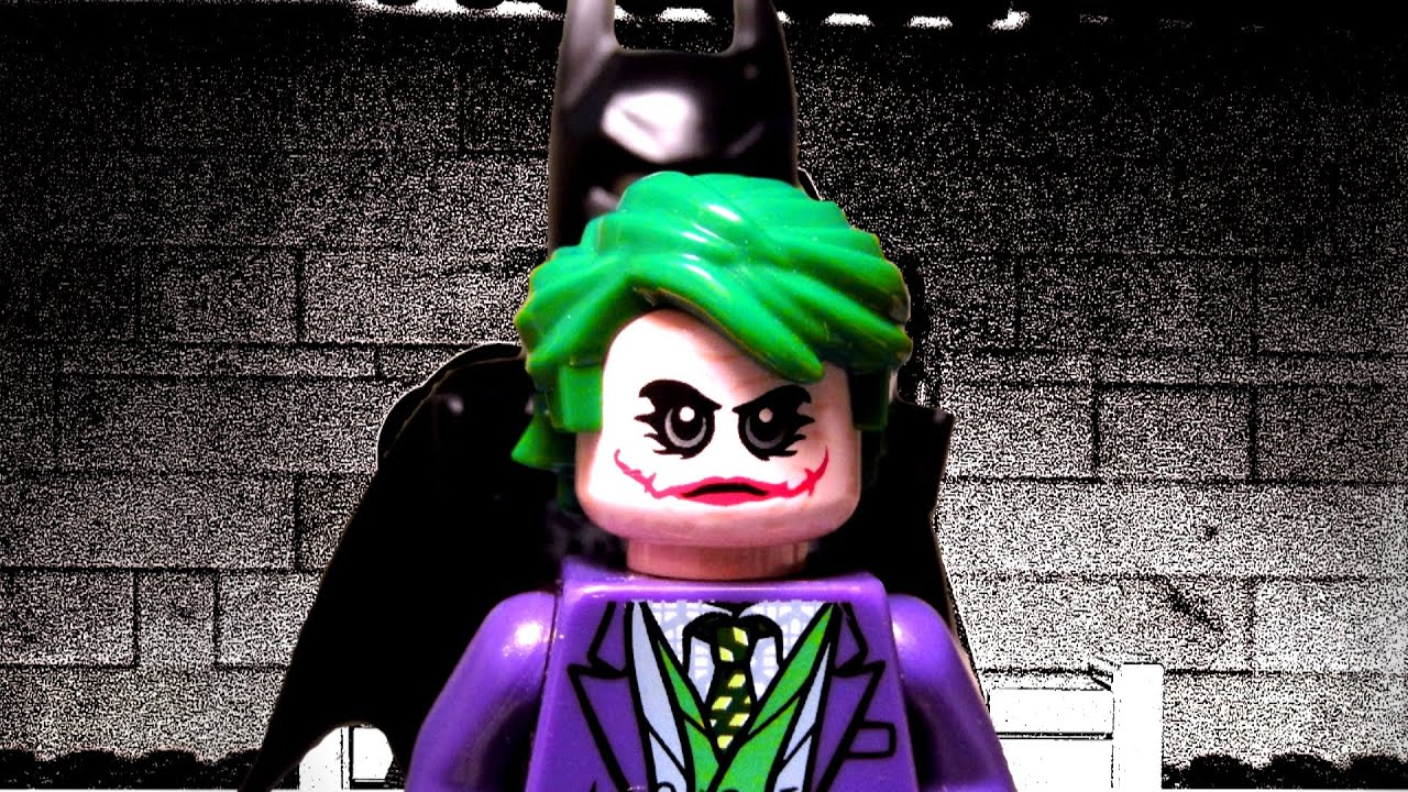 The Dark Knight Interrogation Scene in LEGO - Batman vs Joker