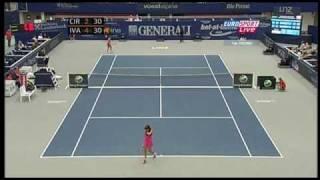 Ana Ivanovic vs Sorana Cirstea 2010 Linz Highlights