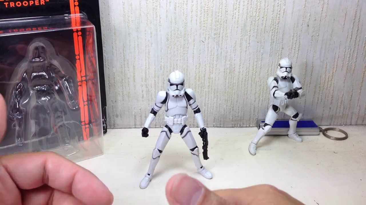 Star Wars The Black Series 41st Elite Corps Clone Trooper Hasbro 3,75/'/' 1 Piece