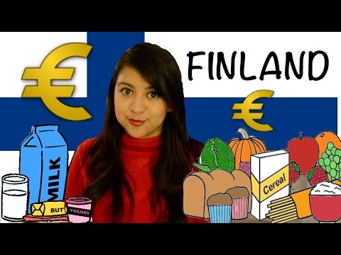 Food prices in FINLAND/ The Food Budget