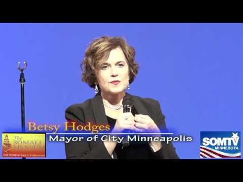 Betsy Hodges Mayor of City Minneapolis