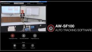 Auto Tracking Software Key  AW-SF100G screenshot 3