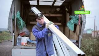 Как выбрать забор из профнастила, часть 1(В этом видео мы покажем, от чего зависят качество забора, его долговечность и цена., 2015-05-06T11:35:19.000Z)