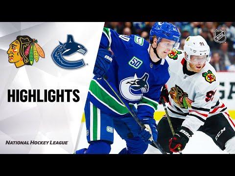 NHL Highlights | Blackhawks @ Canucks 2/12/20