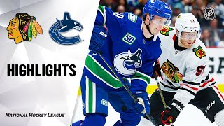 NHL Highlights | Blackhawks @ Canucks 2/12/20