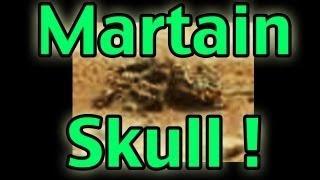 Elongated Martian Skull Found in Mars Curiosity Photo!