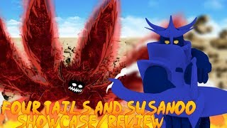 (MASSIVE CODE) Roblox Beyond NRPG BETA | CUSTOM SUSANOO AND FOUR TAILS BEST MODE SHOWCASE/REVIEW
