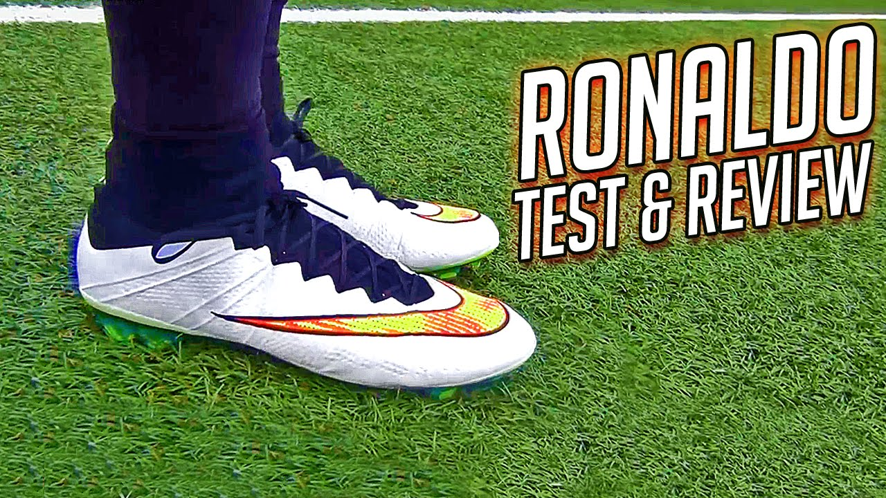 Testing Cristiano Ronaldo Boots 2015: Mercurial Superfly 4 Review - YouTube