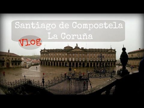 Viaggio in Galizia: Santiago de Compostela e La Coruña - Travel vlog ITA maggio 2016 DAY 2