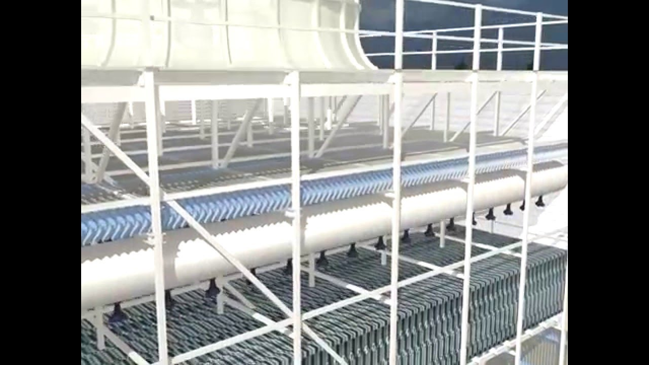 Hamon - Induced draft cooling tower