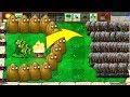 Plants vs Zombies Hack - 1 Threepeater vs 999 Gargantuar Zombies