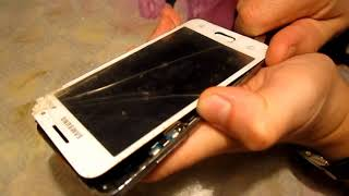 Samsung Core 2  (G355H/DS) замена сенсора (тачскрина)