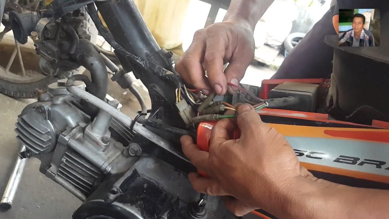 cara mengecek penyebab motor mogok - ciri-ciri komponen pengapian