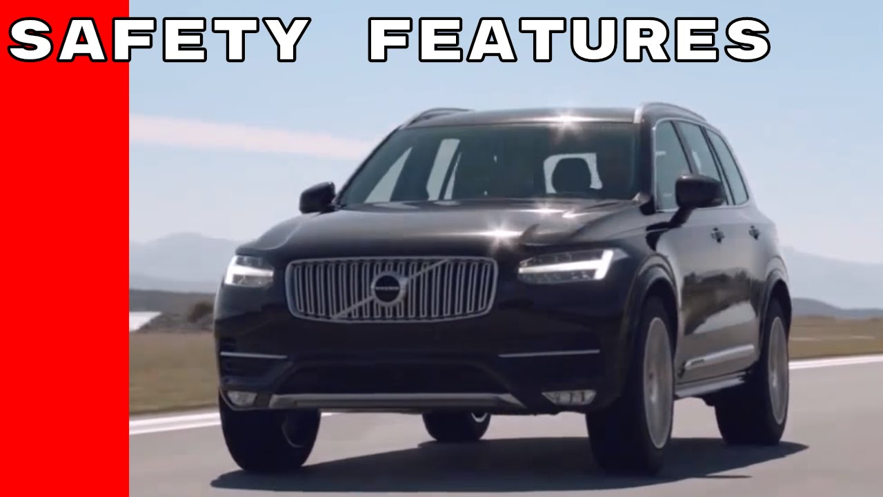 2017 Volvo Xc90 Safety Technology And Crash Test