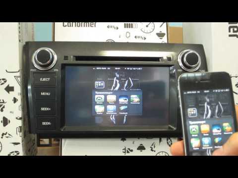 Airplay для Iphone смартфонов. Картинка с телефона на мониторе авто! Без проводов!