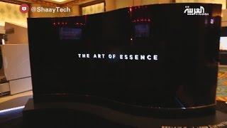شيء تك : تلفاز من LG بشاشة عرض من الجهتين