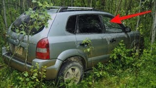 Teens find abandoned car in woods - look on the seat and realize something is very wrong
