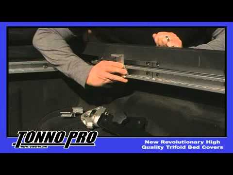 Tonnopro Pickup Tonneau Covers Utility Track Installation