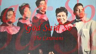 """God Said So"" - The Caravans, feat Inez Andrews (1959)"