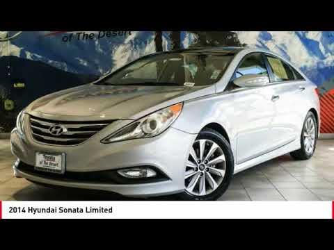 2014 Hyundai Sonata Cathedral City CA 903649K