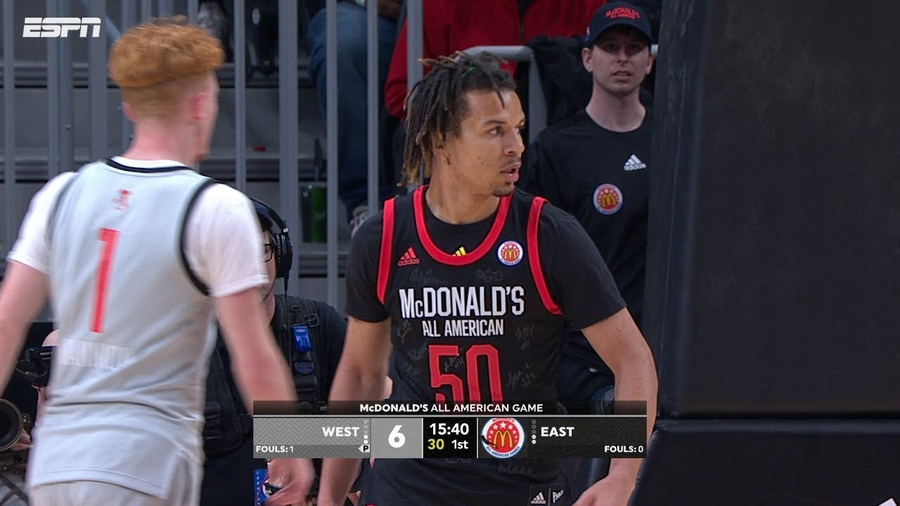 b0b9e90d5c4c 2019 McDonald s All American Game  Cole Anthony stands out to win MVP!