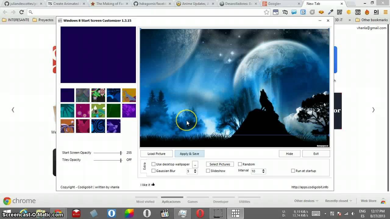 Windows 8 1 Start Screen Customizer